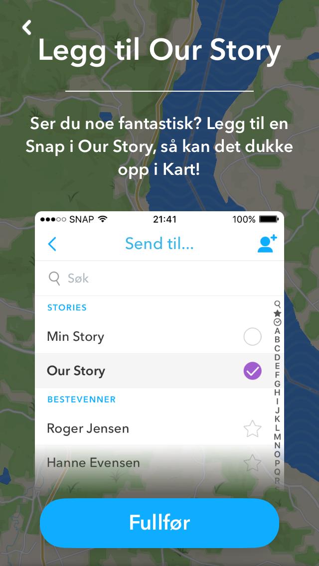 Snapchat Karte.Slik Tilpasser Du Kart Funksjonen I Snapchat Nettvett No